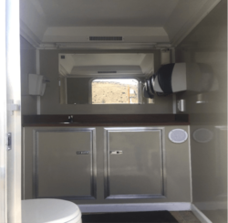 ADA Accessible Restroom Trailer Interior 2