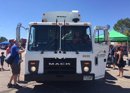 pro disposal truck