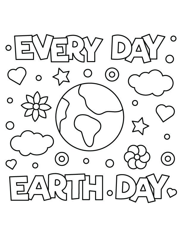 Earth Day 2020 Coloring Contest thumbnail